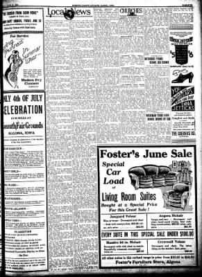Kossuth County Advance from Algona, Iowa on June 25, 1931 · Page 5