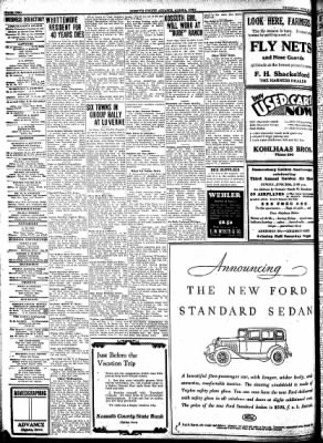Kossuth County Advance from Algona, Iowa on June 25, 1931 · Page 10