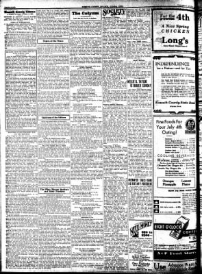 Kossuth County Advance from Algona, Iowa on July 2, 1931 · Page 4