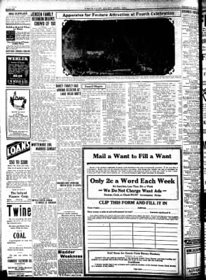Kossuth County Advance from Algona, Iowa on July 2, 1931 · Page 6