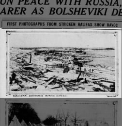 Halifax Explosion: December 6, 1917 - Fishwrap The official
