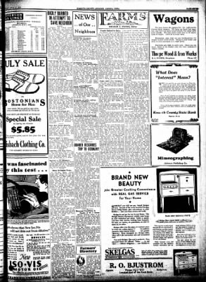 Kossuth County Advance from Algona, Iowa on July 9, 1931 · Page 7
