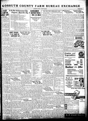 Kossuth County Advance from Algona, Iowa on July 30, 1931 · Page 3