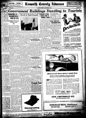Kossuth County Advance from Algona, Iowa on August 6, 1931 · Page 7