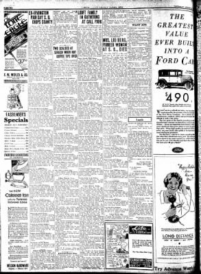 Kossuth County Advance from Algona, Iowa on August 13, 1931 · Page 6