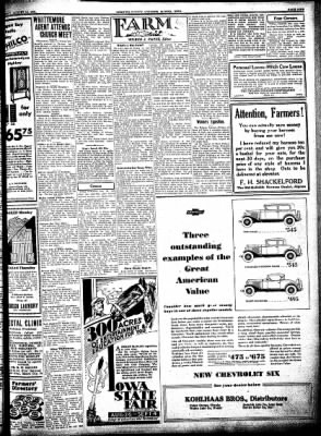 Kossuth County Advance from Algona, Iowa on August 13, 1931 · Page 9