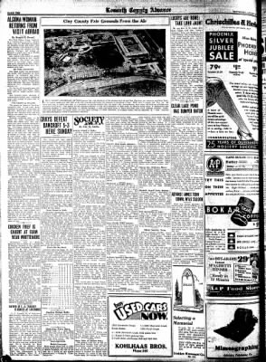 Kossuth County Advance from Algona, Iowa on August 13, 1931 · Page 10
