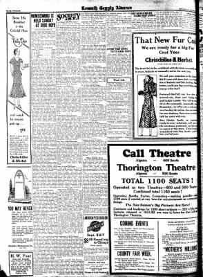 Kossuth County Advance from Algona, Iowa on August 27, 1931 · Page 12