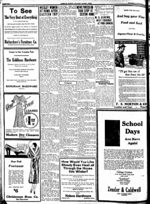 Kossuth County Advance from Algona, Iowa on September 1, 1931 · Page 2