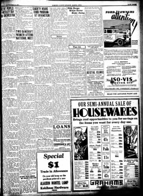 Kossuth County Advance from Algona, Iowa on September 24, 1931 · Page 3