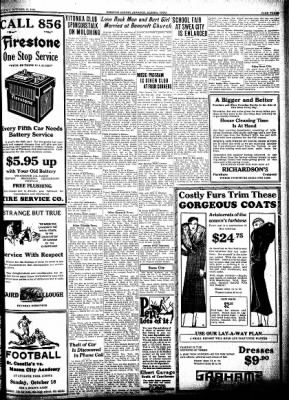 Kossuth County Advance from Algona, Iowa on October 15, 1931 · Page 3