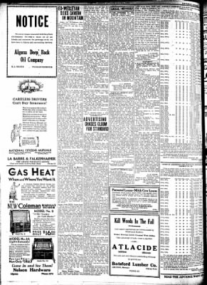 Kossuth County Advance from Algona, Iowa on October 15, 1931 · Page 8