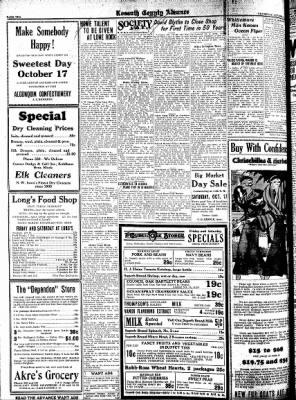 Kossuth County Advance from Algona, Iowa on October 15, 1931 · Page 10