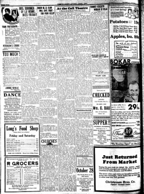 Kossuth County Advance from Algona, Iowa on October 22, 1931 · Page 4