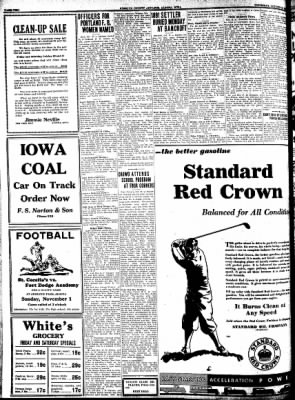 Kossuth County Advance from Algona, Iowa on October 29, 1931 · Page 2