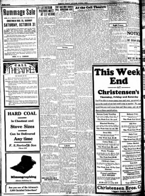 Kossuth County Advance from Algona, Iowa on October 29, 1931 · Page 4