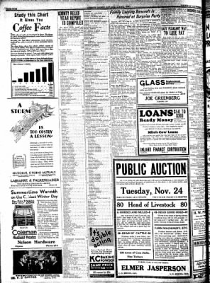 Kossuth County Advance from Algona, Iowa on November 12, 1931 · Page 4