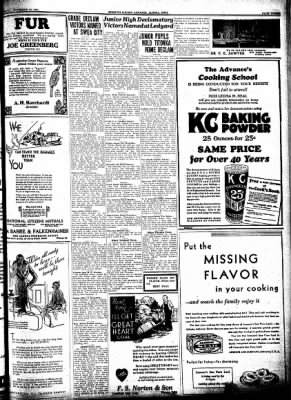 Kossuth County Advance from Algona, Iowa on November 26, 1931 · Page 3