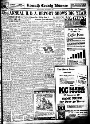 Kossuth County Advance from Algona, Iowa on December 3, 1931 · Page 7