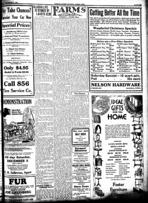 Kossuth County Advance from Algona, Iowa on December 3, 1931 · Page 9