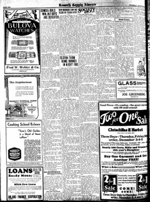 Kossuth County Advance from Algona, Iowa on December 3, 1931 · Page 10
