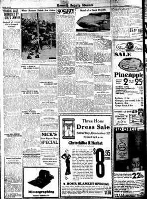 Kossuth County Advance from Algona, Iowa on December 10, 1931 · Page 8