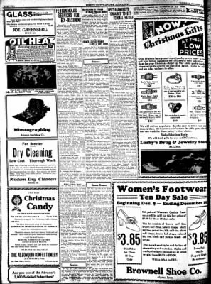 Kossuth County Advance from Algona, Iowa on December 10, 1931 · Page 10