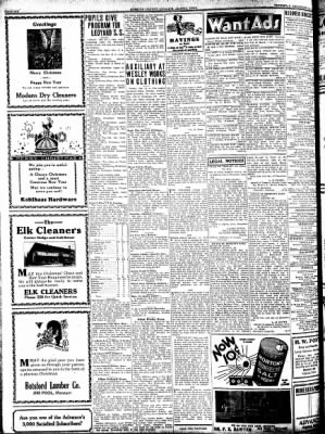 Kossuth County Advance from Algona, Iowa on December 24, 1931 · Page 6