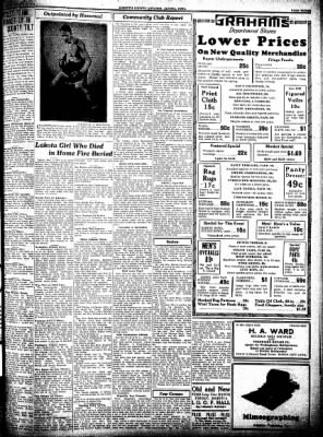Kossuth County Advance from Algona, Iowa on March 3, 1932 · Page 3