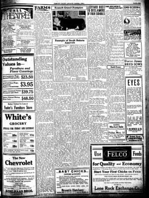 Kossuth County Advance from Algona, Iowa on March 3, 1932 · Page 9