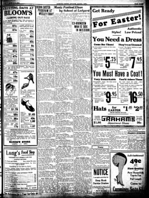 Kossuth County Advance from Algona, Iowa on March 24, 1932 · Page 3