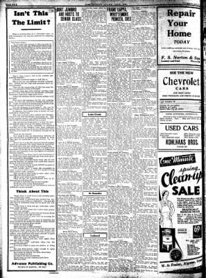 Kossuth County Advance from Algona, Iowa on May 12, 1932 · Page 11