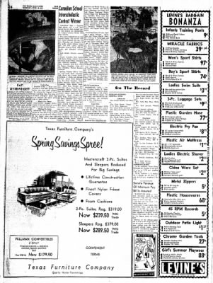 Pampa Daily News from Pampa, Texas on April 20, 1961 · Page 24