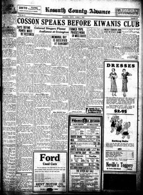 Kossuth County Advance from Algona, Iowa on June 2, 1932 · Page 9