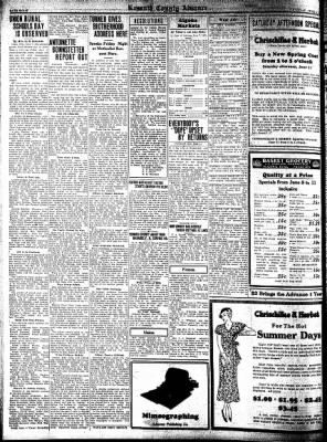 Kossuth County Advance from Algona, Iowa on June 9, 1932 · Page 8
