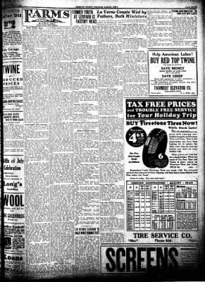 Kossuth County Advance from Algona, Iowa on June 30, 1932 · Page 7