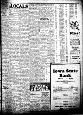 Kossuth County Advance from Algona, Iowa on July 7, 1932 · Page 5