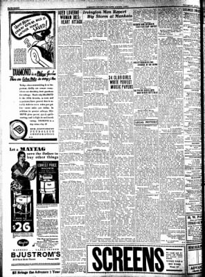 Kossuth County Advance from Algona, Iowa on July 14, 1932 · Page 8