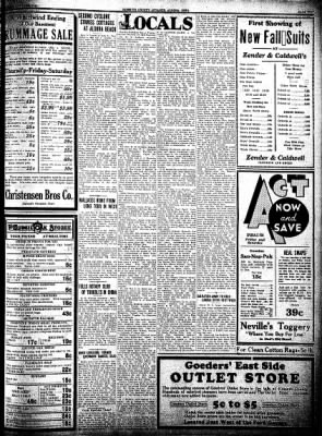 Kossuth County Advance from Algona, Iowa on July 28, 1932 · Page 5