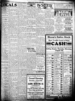 Kossuth County Advance from Algona, Iowa on August 4, 1932 · Page 5
