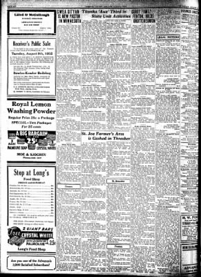 Kossuth County Advance from Algona, Iowa on August 4, 1932 · Page 6