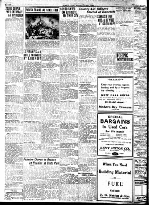 Kossuth County Advance from Algona, Iowa on August 11, 1932 · Page 6