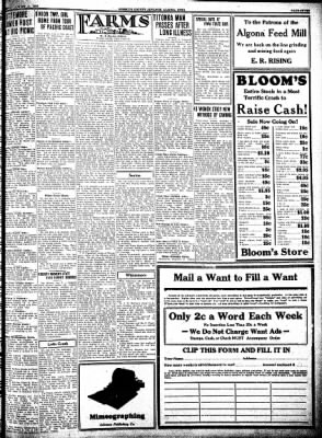 Kossuth County Advance from Algona, Iowa on August 11, 1932 · Page 7