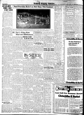 Kossuth County Advance from Algona, Iowa on August 11, 1932 · Page 8