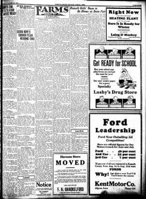 Kossuth County Advance from Algona, Iowa on August 25, 1932 · Page 7