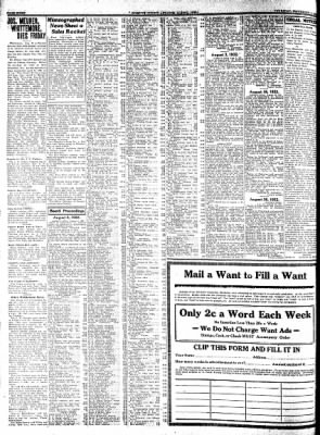 Kossuth County Advance from Algona, Iowa on September 1, 1932 · Page 8
