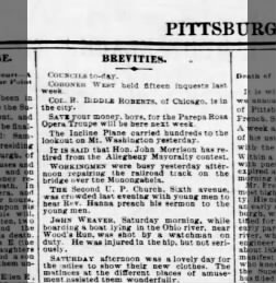 Pittsburgh Weekly Gazette from Pittsburgh, Pennsylvania on