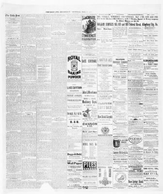 Pittsburgh Daily Post from Pittsburgh, Pennsylvania on May