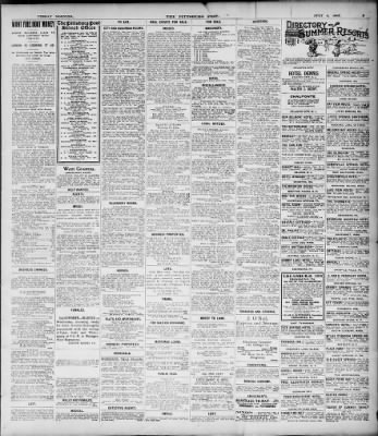 Pittsburgh Daily Post From Pittsburgh Pennsylvania On July 4 1905