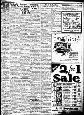 Kossuth County Advance from Algona, Iowa on October 20, 1932 · Page 3
